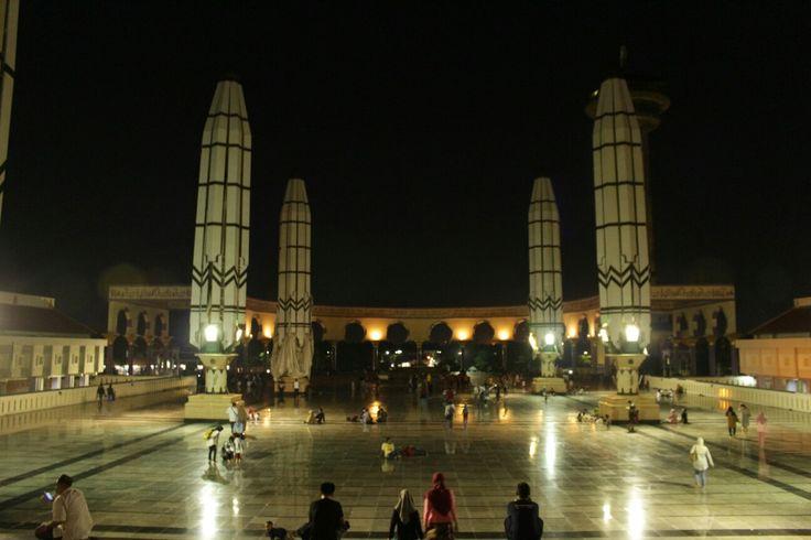 MAJT #night #indonesia #masjid #mosque