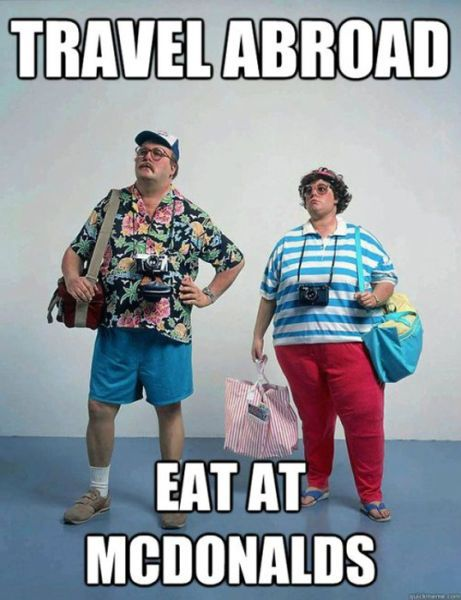 American tourists.