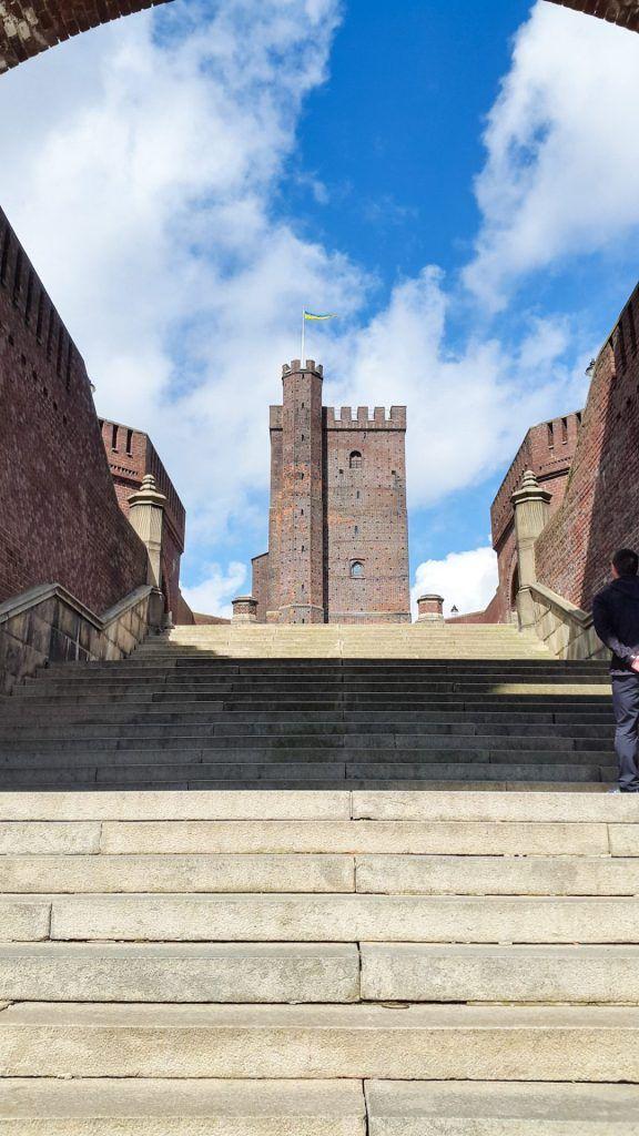 Staircase leading to Kärnan, Helsingborg
