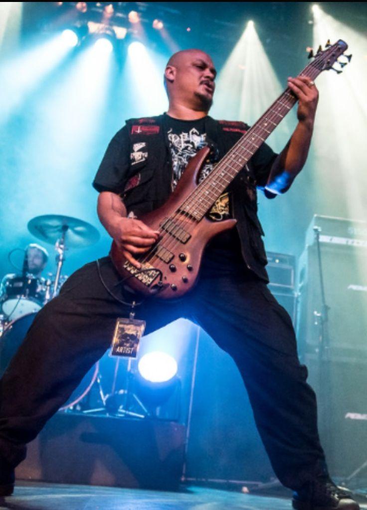 Six munition bulldozer bass attack.Vinnie Blood.Derek Carr photography. #tyrantsblood #deathmetal