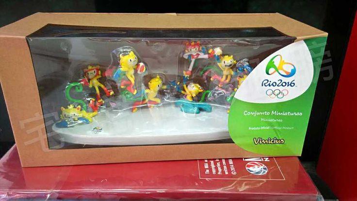 Brazil Rio 2016 Olympic Mascot Vinicius PVC Table Tops,30X10X10cm,New Arrival !  | eBay