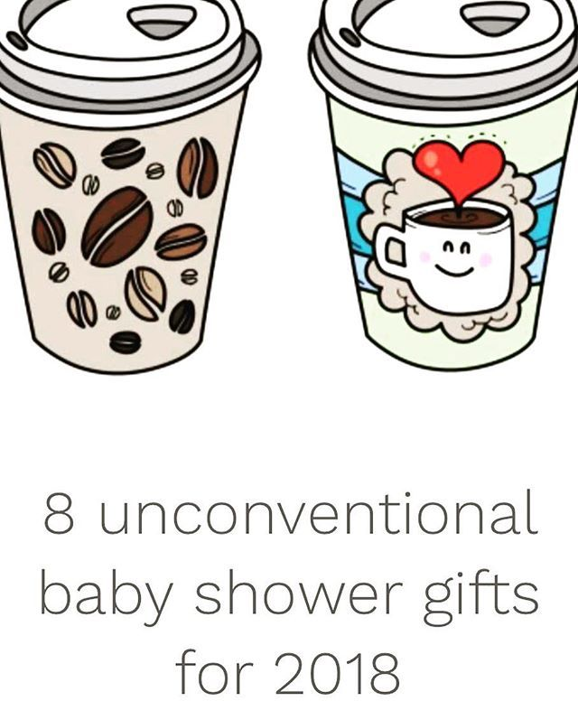 8 unconventional baby shower gift. Unique gift ideas