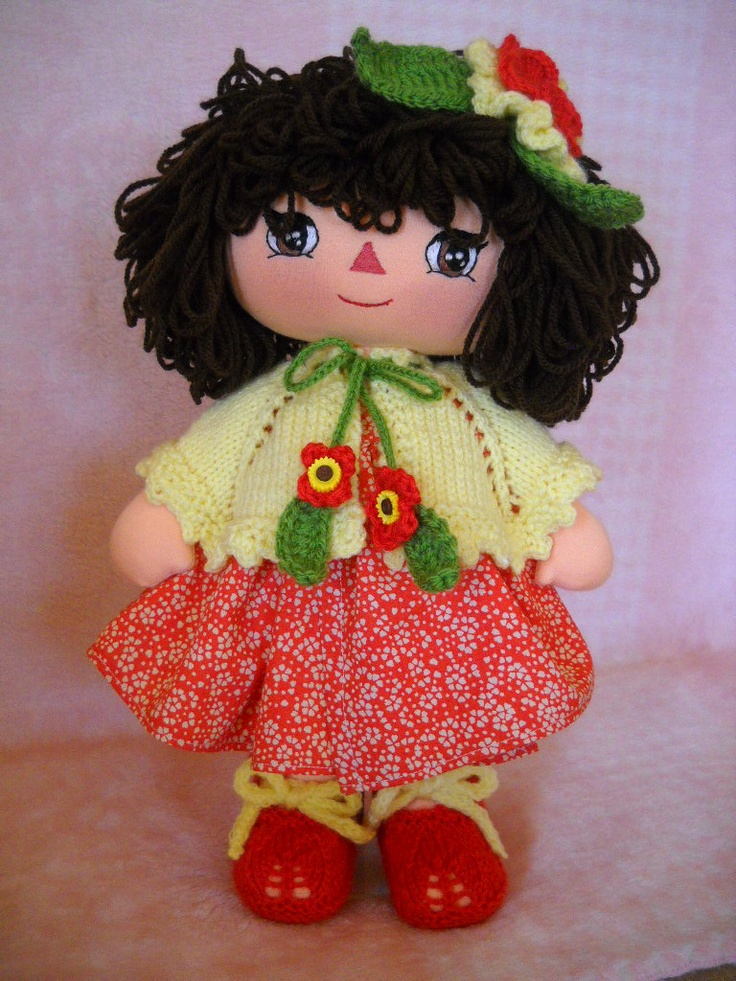 handmade doll named Magie