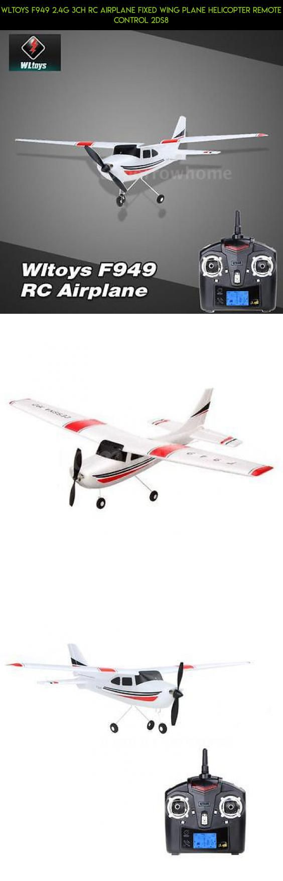 Wltoys F949 2.4G 3Ch RC Airplane Fixed Wing Plane Helicopter Remote Control 2DS8 #kit #racing #plans #gadgets #tech #products #parts #wltoys #shopping #3ch #camera #fpv #drone #technology