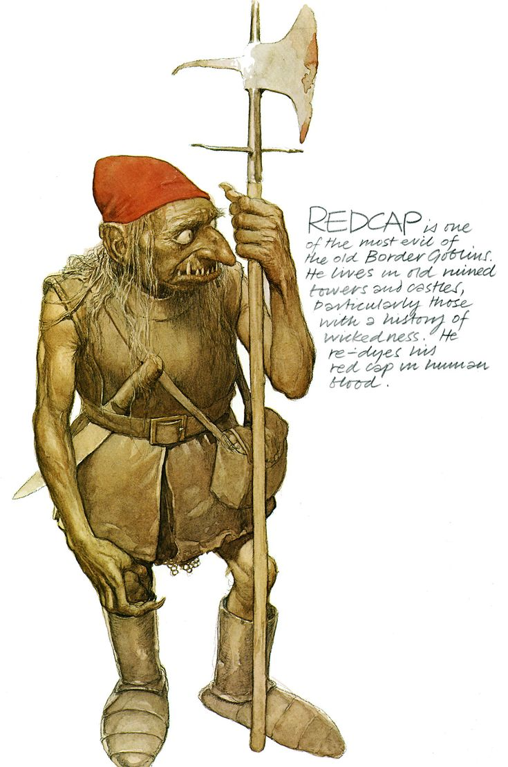 alan lee_faeries_redcap.jpg (1061×1600)