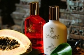 St. Barths sunscreen products available at White's pharmacy in East hampton