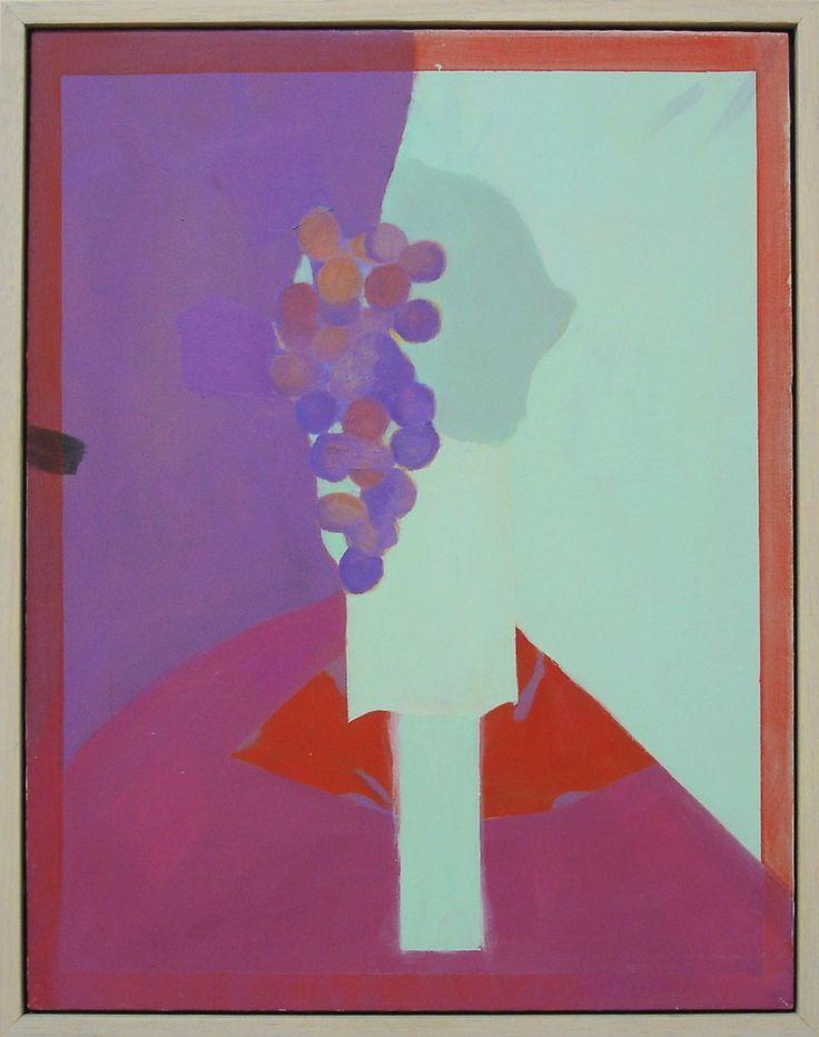 Saskia Leek, Fruit Subject 8, 2012, oil on board, 470 x 370 mm