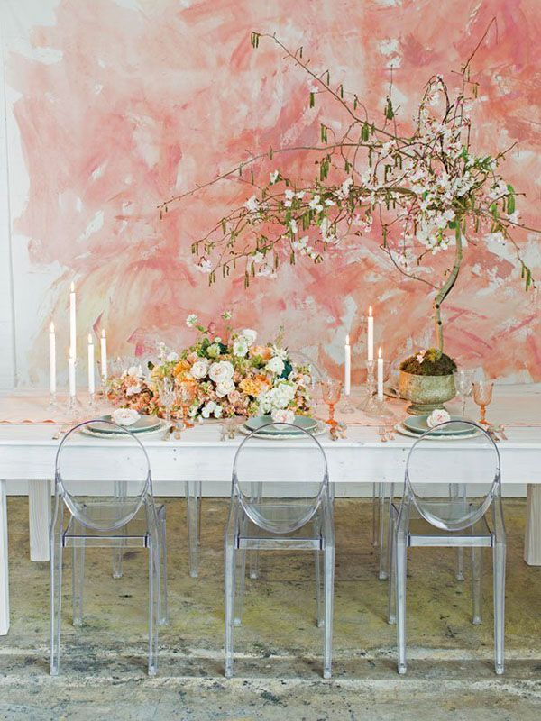 Modern Monet Wedding Shoot | Jessica Peterson Photography | Wedding Styling Spotlight on Michelle Leo Events