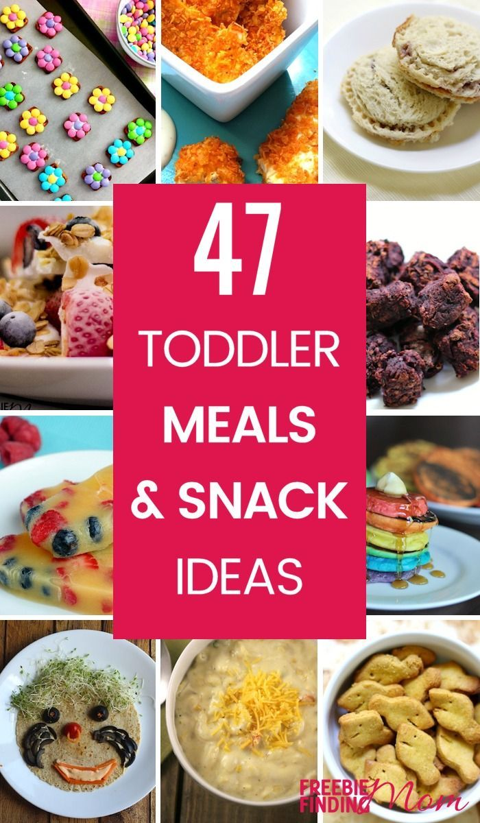 47 Recipes For Toddler Meals And Snack Ideas