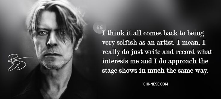 7 Most Popular David Bowie Quotes You Should Know @ http://chi-nese.com/7-david-bowie-quotes-you-should-know/ #davidbowie #quotes