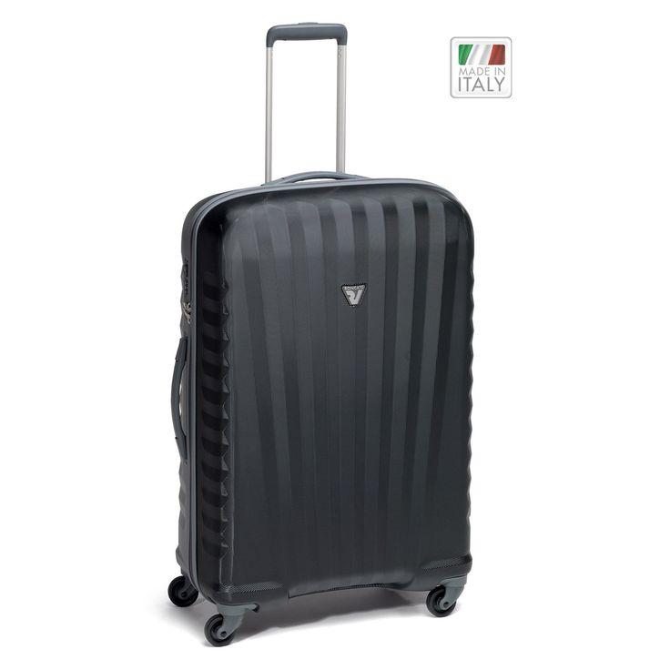 Mittelgroßer #Koffer Roncato Uno Zip ZSL bei Koffermarkt: ✓leicht ✓Polycarbonat-Rahmenkoffer ✓4 Rollen ✓schwarz ⇒Jetzt kaufen