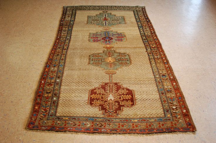 """Pre 1900s SUPER ANTIQUE ONE OF A KIND CAMEL WOOL or ALSO CALLED CAMEL HAIR PERSIAN BAKHSHAYESH or BAKHSHAISH RUG. all Natural vegetable dye wool woven on wool foundation with asize of4' 2"""" x 7' 6"""".   eBay!"""
