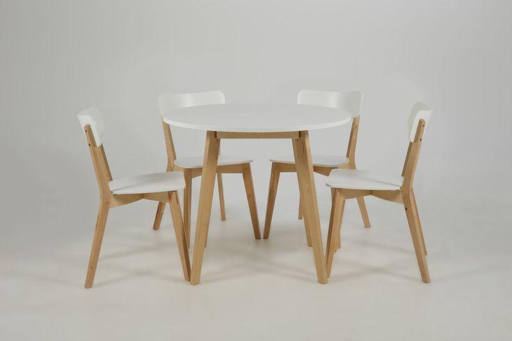 Solna - Strak deens design hoogwaardig afgewerkt. Dit model is gebaseerd op het traditionele deense schoolstoeltje maar in een moderne design.