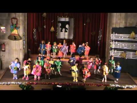 Salesianos Salamanca. Villancico 3 años B.MPG - YouTube