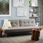 """Mid-Century Full Futon Sofa (82"""")"""