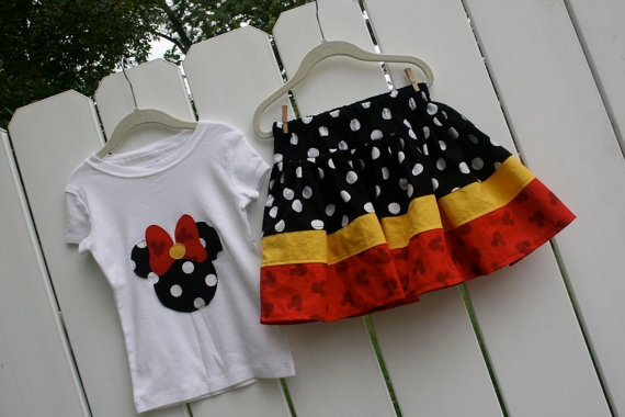 Minnie Skirt and top