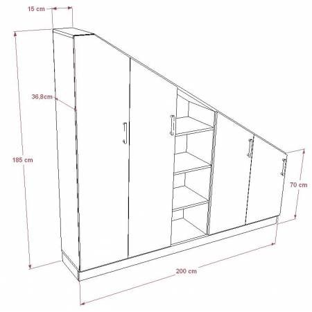 25 best ideas about armoire sous pente on pinterest - Rangement sous pente leroy merlin ...