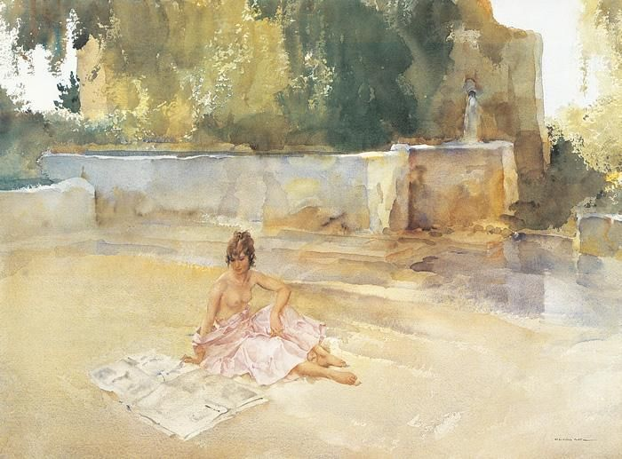 Sir William Russell Flint - The Newspaper