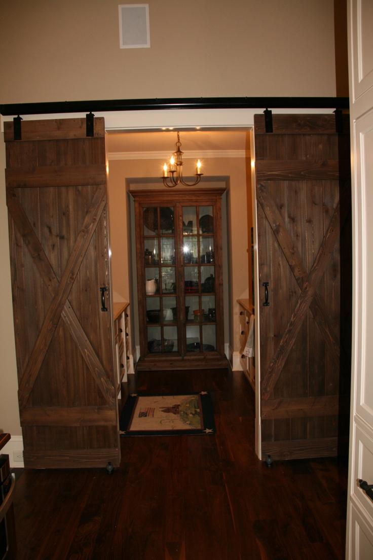 Barn door double doors barn doors pinterest for Small double barn doors