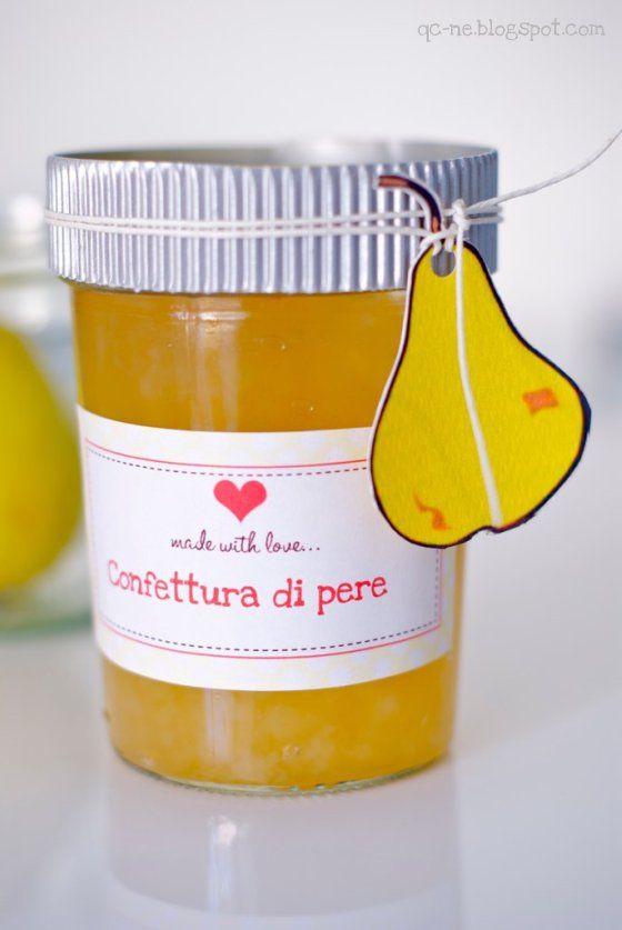 Q.C.ne: Confettura di pere coscia Pear jam