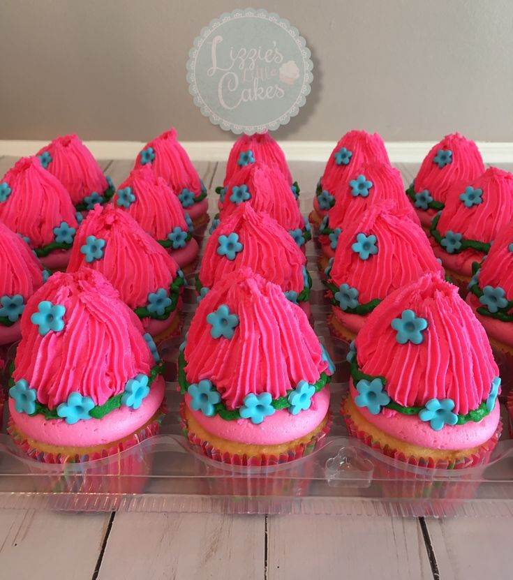 Princess Poppy Cupcakes Lizzie S Little Cakes In 2019
