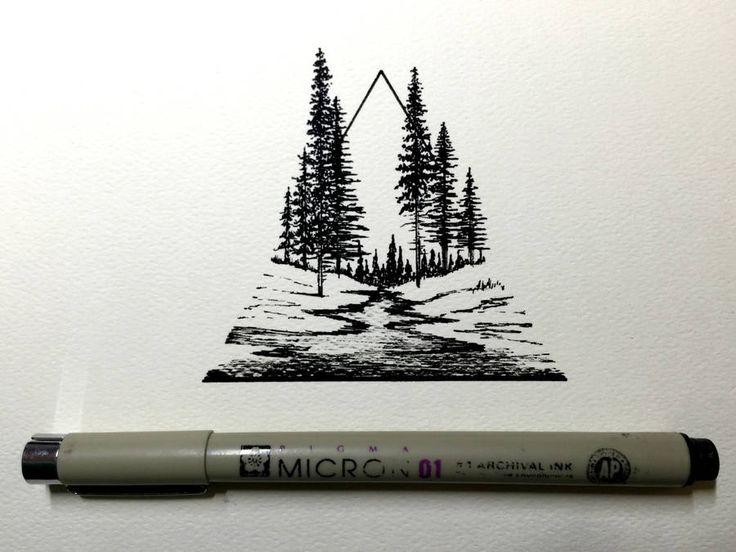 Daily Drawings by Derek Myers – Fubiz Media #art #journal #inspiration www.agencyattorneys.com