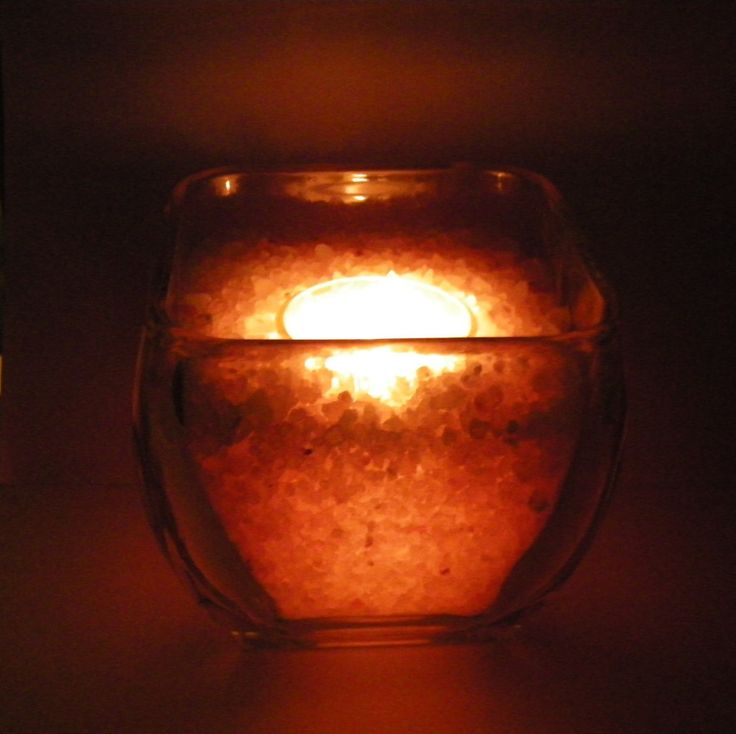 25+ best ideas about Himalayan Salt Candle Holder on Pinterest Himalayan salt candle, Salt ...