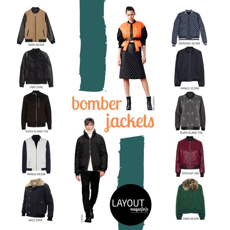 Bomber Jackets www.layout.com.pt/magazine