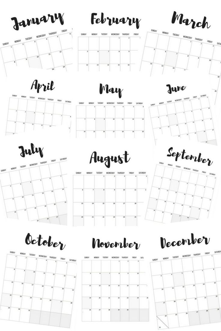 17 Best ideas about 2017 Calendar Printable – Printable Calendars