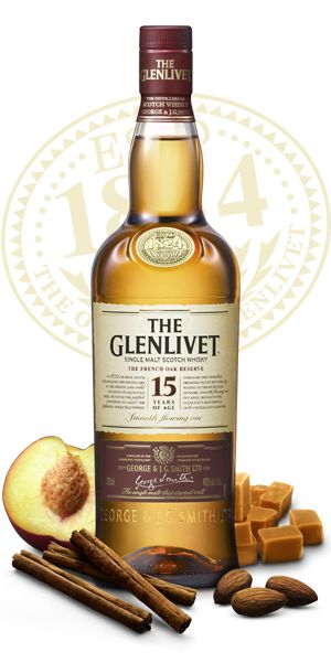 Glenlivet 15 year old Single Malt Scotch Whisky | Order Online with Buttery