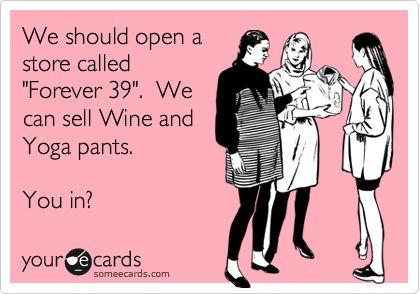 Ha! True :)