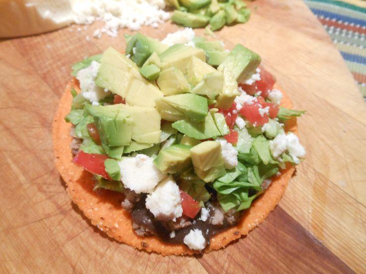Easy Mexican Food Recipes: Chalupas or Tostadas