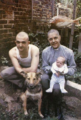 Genesis P-orridge and Peter Christopherson in 83