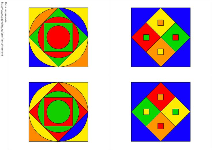 * Memory: kleur en vorm! 3-8