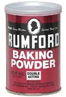 Rumford Baking Powder history from excellent website by Linda Stradley of What's Cooking America