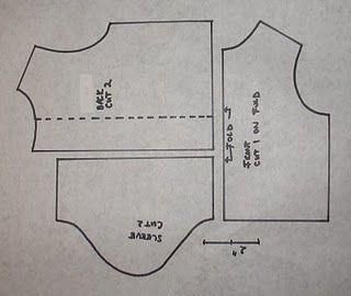 Doll t-shirt pattern