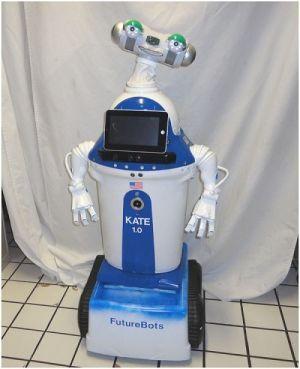 KATE - Robot Humanoid dari FutureBots Lab yang Istimewa