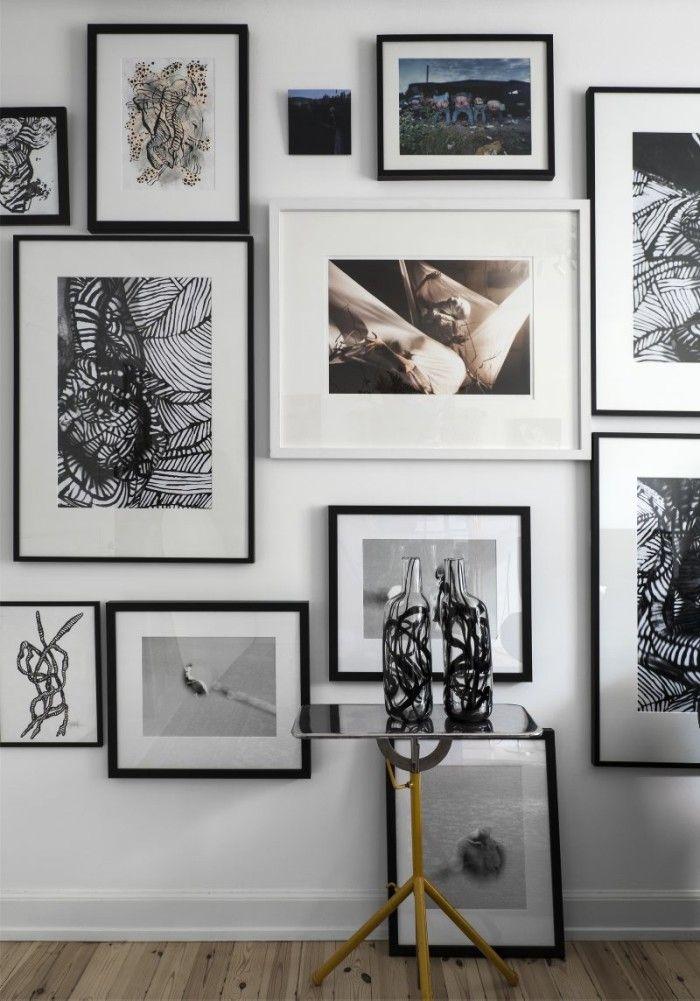 tavelvgg la bergstrm med egna verk blandat med samarbeten med fotografen thomas klementsson - Einfache Dekoration Und Mobel Photocircle Fotokunst Fuer Den Guten Zweck