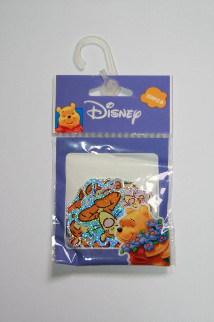 Sachet de 30 Stickers WINNIE l'Ourson et TIGROU : Gommettes, autocollants enfants par boutique-creative-by-c-dona