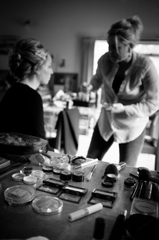 http://edjones.photo reportage wedding photography, bridal prep, Hair and Makeup