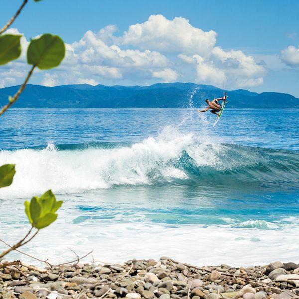 "Gas Posters Filipe Toledo, Sumbawa, Indonesia Surf Poster 24"" x 36"""