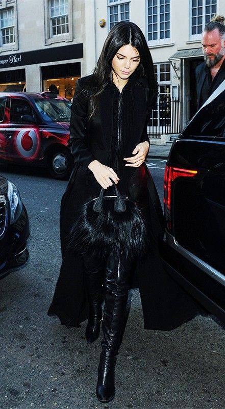 You Need to See Kendall Jenner's Chic London Look via @WhoWhatWear