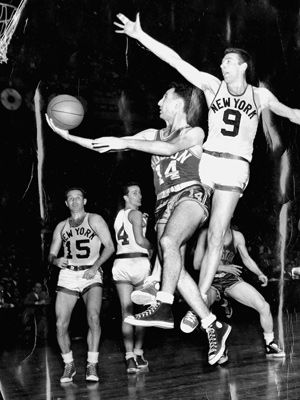 Bob Cousy--THE FIRST TRUE POINT GUARD OF THE ENTIRE NBA AND INVENTOR OF THE MODEREN GAME