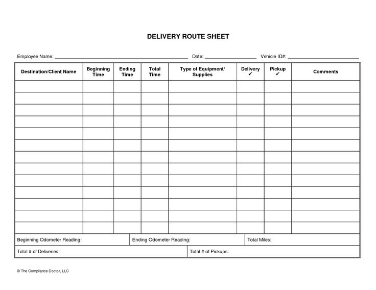 Driver Daily Log Sheet Template | business forms | Pinterest | Logs