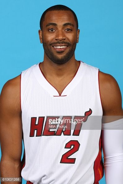 Wayne Ellington of the Miami Heat poses for a head shot during the 20162017 Miami Heat Media Day on September 26 2016 at American Airlines Arena in...