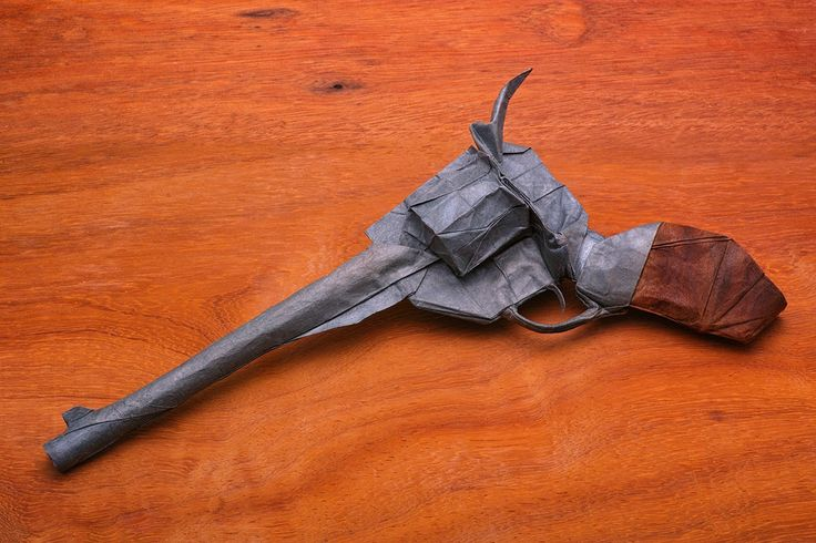 Origami Weapons and Armour You Could Almost Take Into Battle