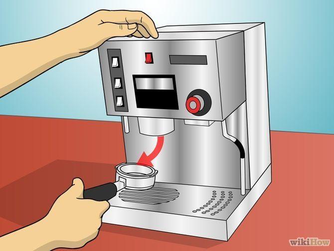 Use a Commercial Espresso Machine