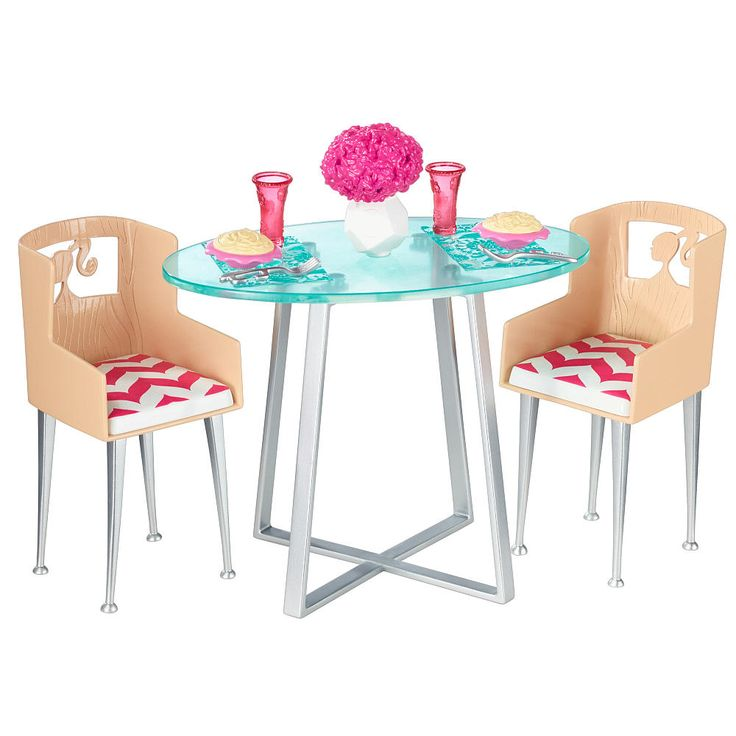Barbie doll is known for her signature style. Now girls can express their own signature style, choosing how they want their home to look and the stories they want to tell. With a fabulous selection of furniture and accessories (each sold separately) girls can decorate the Starter House (sold separately) to fit the scene they are creating. This dinner date set includes the fabulous furniture and amazing accessories needed to extend storytelling into authentic and engaging play. Barbie doll…