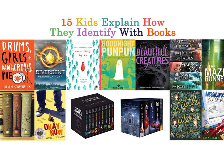 15 Kids Explain How They Identify With Books