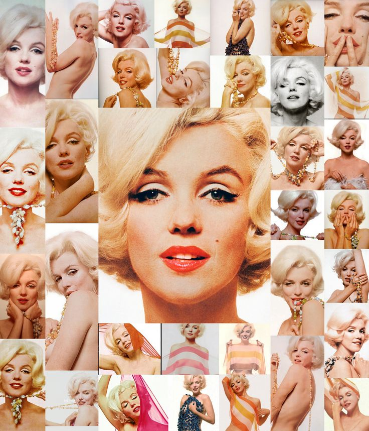 collge by stefan poison tribute to marilyn monroe the last photographs of Bert Stern